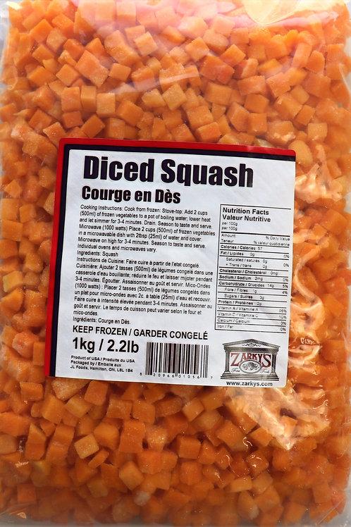 Diced Squash