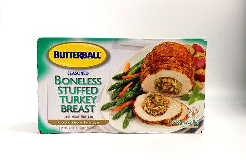 Seasoned Boneless Stuffed Turkey Breast