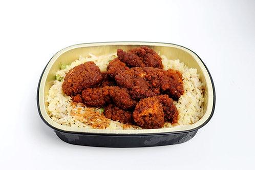 Orange Chicken & Fried Rice Dinner