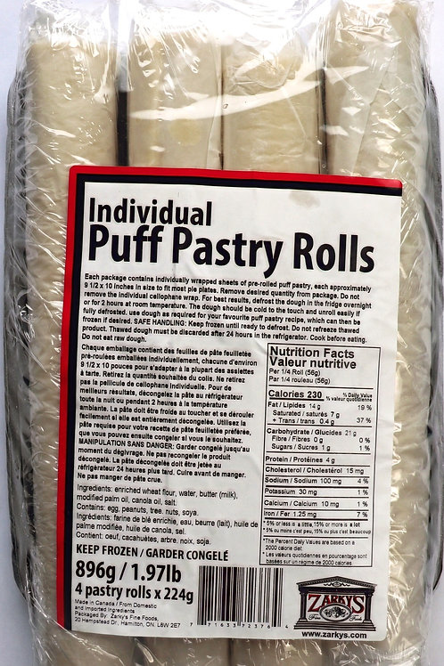 Individual Puff Pastery Rolls