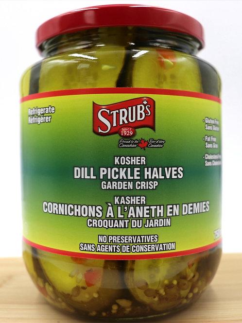 Strub's Kosher Dill Pickle Halves