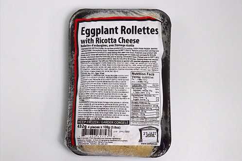 Eggplant Rollettes with Ricotta Cheese