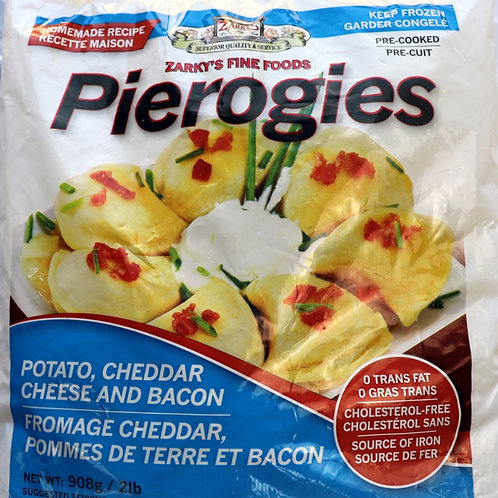 Potato, Cheddar & Bacon Pierogies