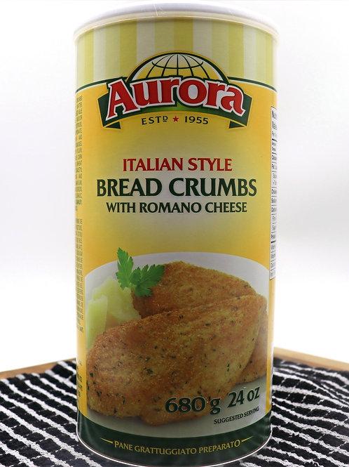 Aurora Italian Style Bread Crumbs With Romano Cheese