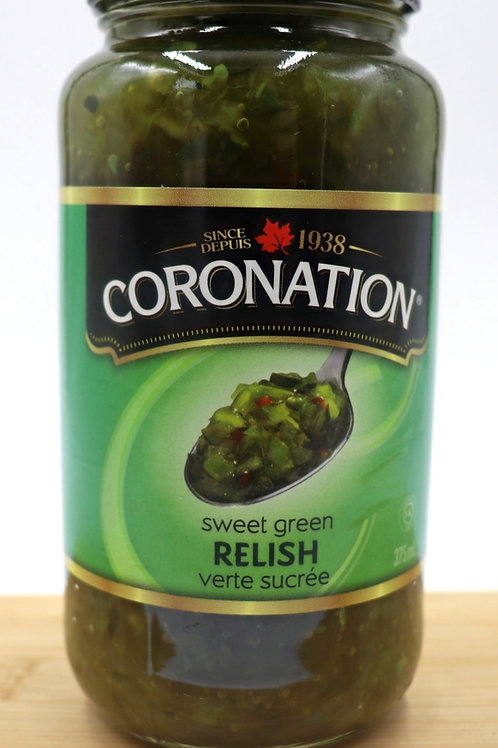 Coronation Sweet Green Relish
