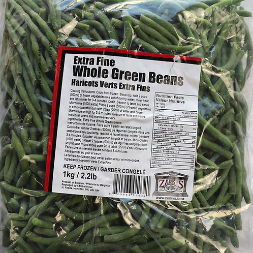 Extra Fine Whole Green Beans