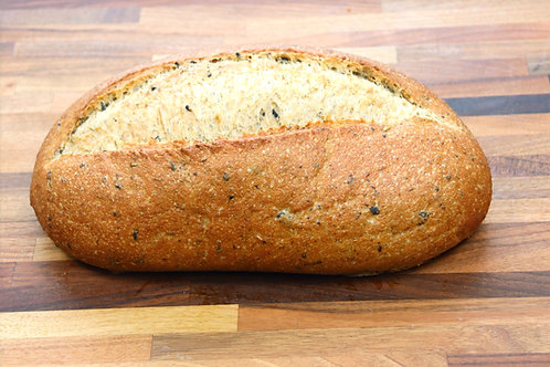 Black & Green Olive Bread