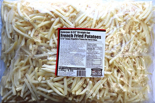 "9/32"" Straight Cut Shoestring Fries"
