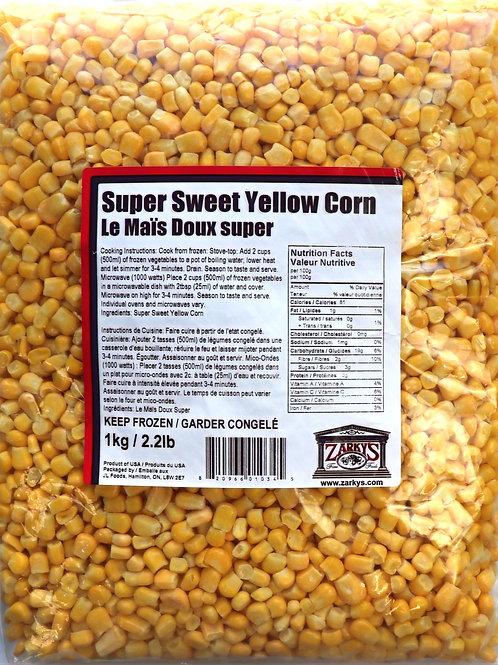 Super Sweet Yellow Corn