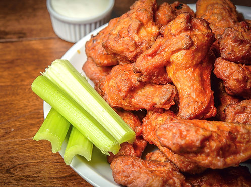 Fully Cooked Buffalo Chicken Wings