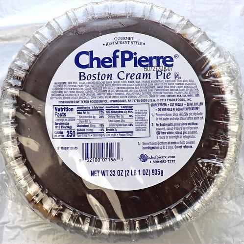"""Chef Pierre 10"""" Boston Cream Pie"""
