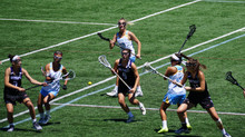 Wave's Peng Reppin' Cali at Under Armour All America Lacrosse