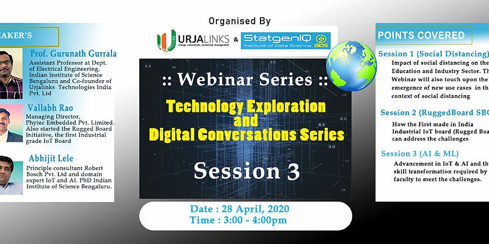 Session 3 :: Trends in Cloud and Mobile Application Development