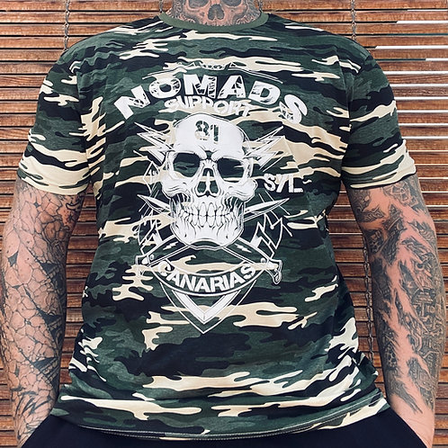 Support 81 Nomads Camouflage T-Shirt