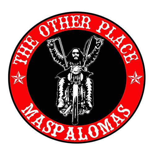 The Other Place Maspalomas sticker