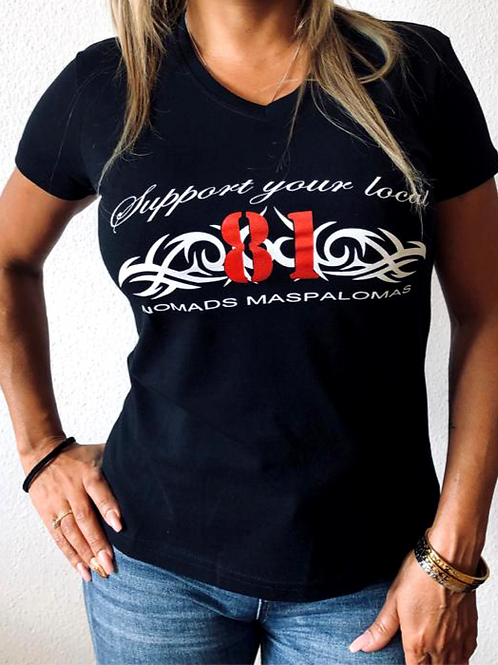 Support 81 Nomads CI Tribal ladies T-Shirt