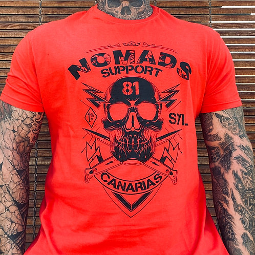 Support 81 Nomads 1% Canarias T-Shirt