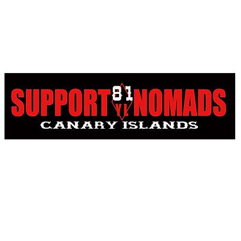 Support 81 Nomads Sticker