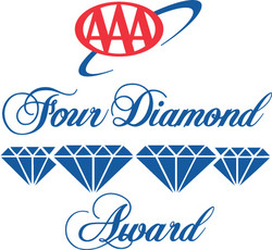 AAA again awards Hotel Arista its Four-Diamond rating