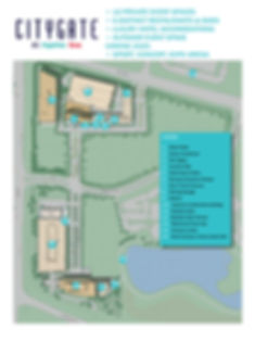 CityGate Centre map
