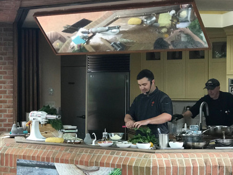Executive Chef Austin Fausett featured in Garden Chef Series at Chicago Botanic Garden