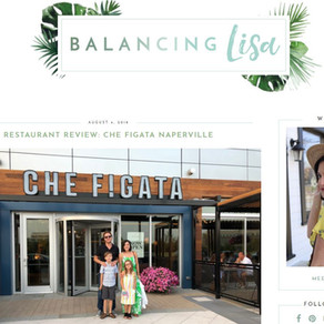 """Blogger """"Balancing Lisa"""" visits Che Figata"""
