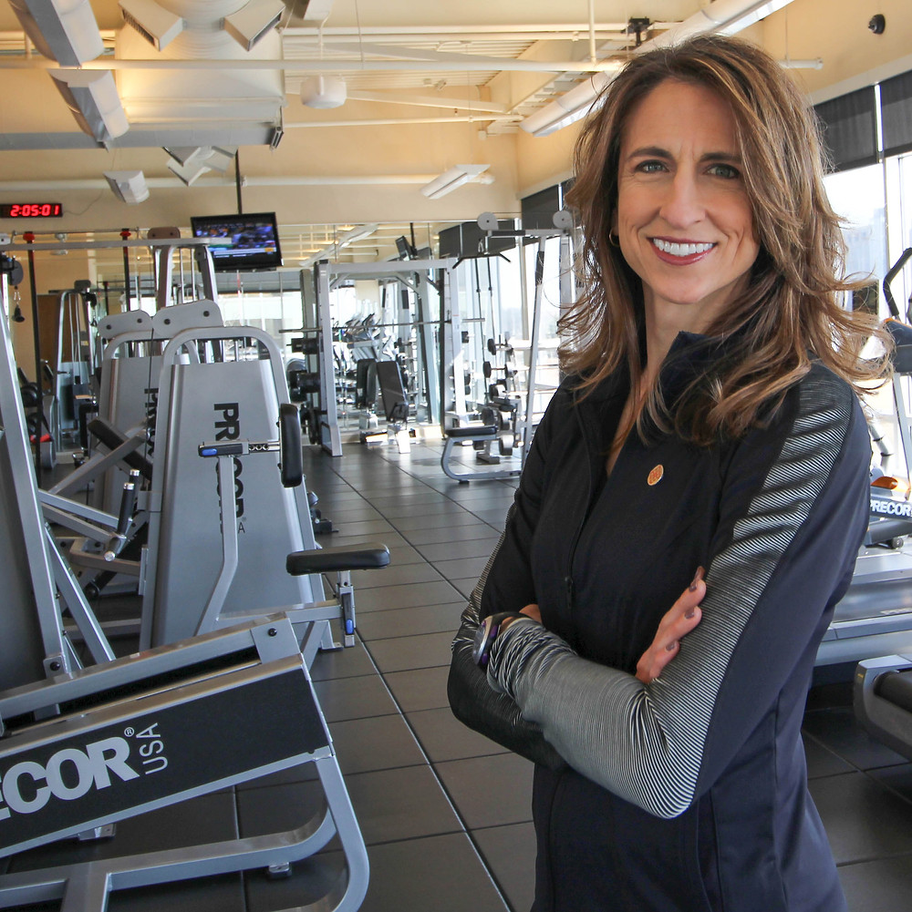 Christine Litwicki, trainer, Olympus Executive Fitness Centere