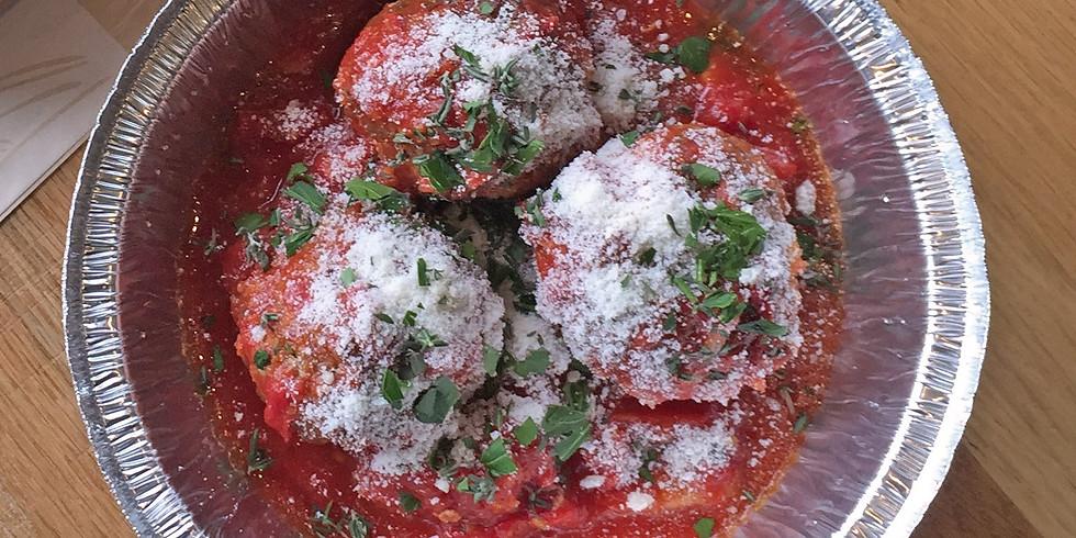 Che Figata CLASSics: Focaccia & Meatballs