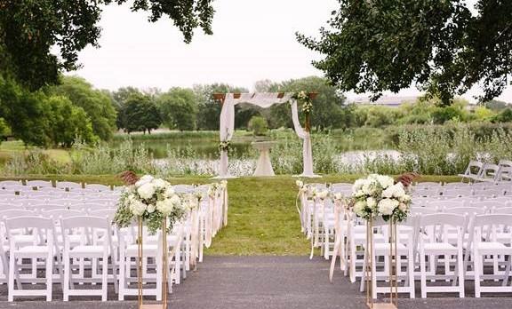 pond-side wedding credit Katherine Salva