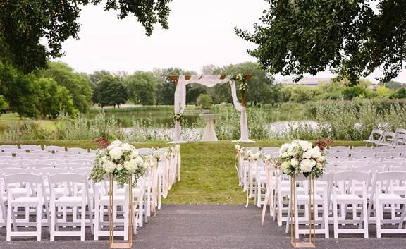 pond-side wedding credit Katherine Salva
