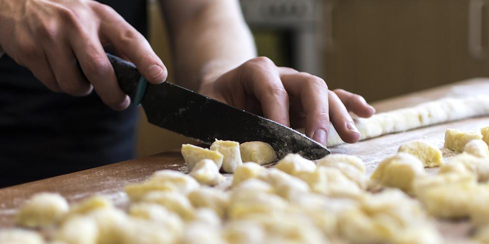 Che Figata U: Gnocchi & hearth-roasted veggies cooking class