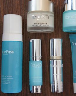 Natura Bisse products at Arista Spa & Salon