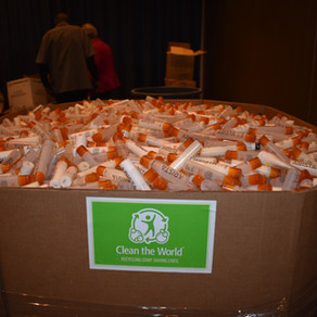 What to do with 2,500 lbs of used soap
