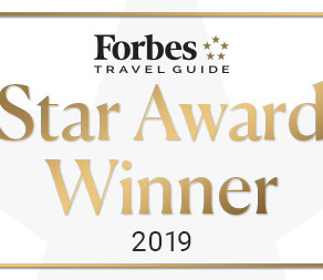Hotel Arista and Arista Spa & Salon retain Forbes Travel Guide Four-Star rating 6 consecutive years