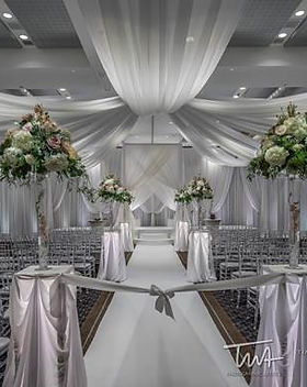 silver white arista wedding credit mille