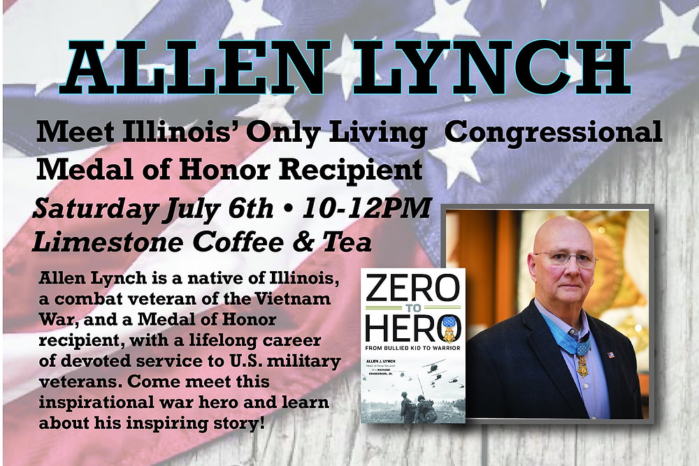Allen J. Lynch, Congressional Medal of Honor recipient and author