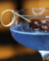 blue & cherry cocktail, Zorba at CITYGATE