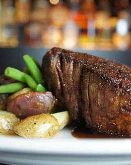USDA Prime steak at The Grille at CITYGATE