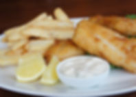 Fish and chips at CityGate Grille