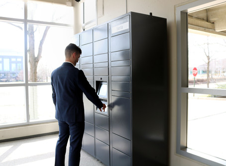 """CITYGATE is home to ZIP's first Amazon Locker: 24/7 Amazon Locker, """"Tierra,"""" now available in 60563"""