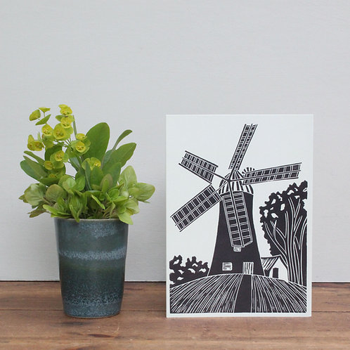Pack of 4 greetings cards - Holgate Windmill