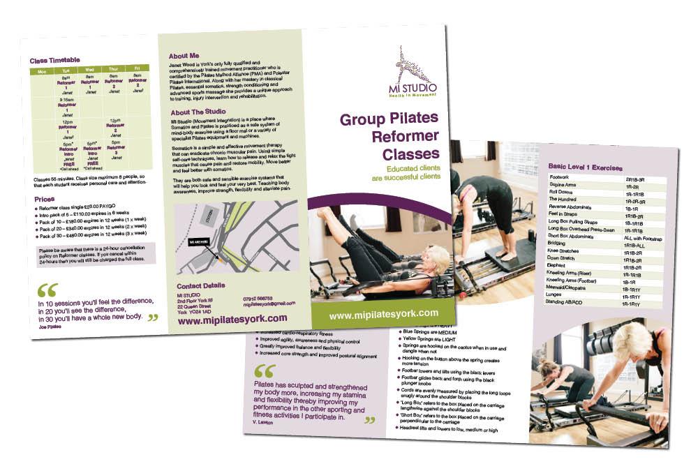 MI Pilates leaflet