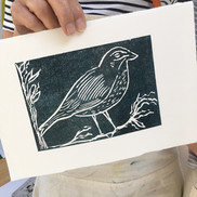 1 July 2019- Introduction to linocut printing