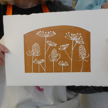 November 2018  - Introduction to linocut printing