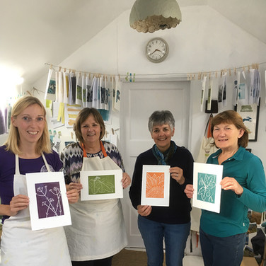 29 September 2019  - Introduction to linocut printing
