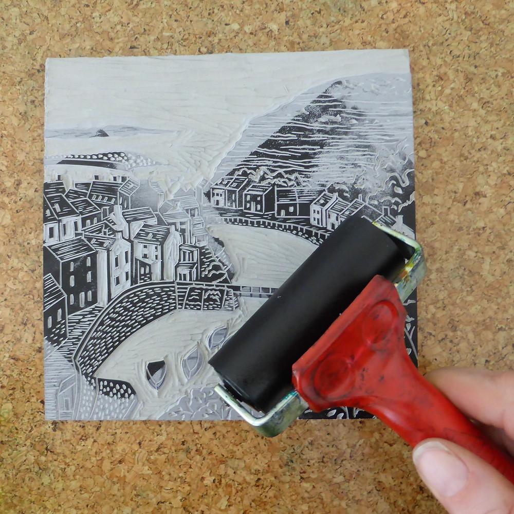 Essdee relief printing roller