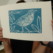 July 2018  - Introduction to linocut printing