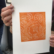 26 Oct 2019 - Introduction to linocut printing