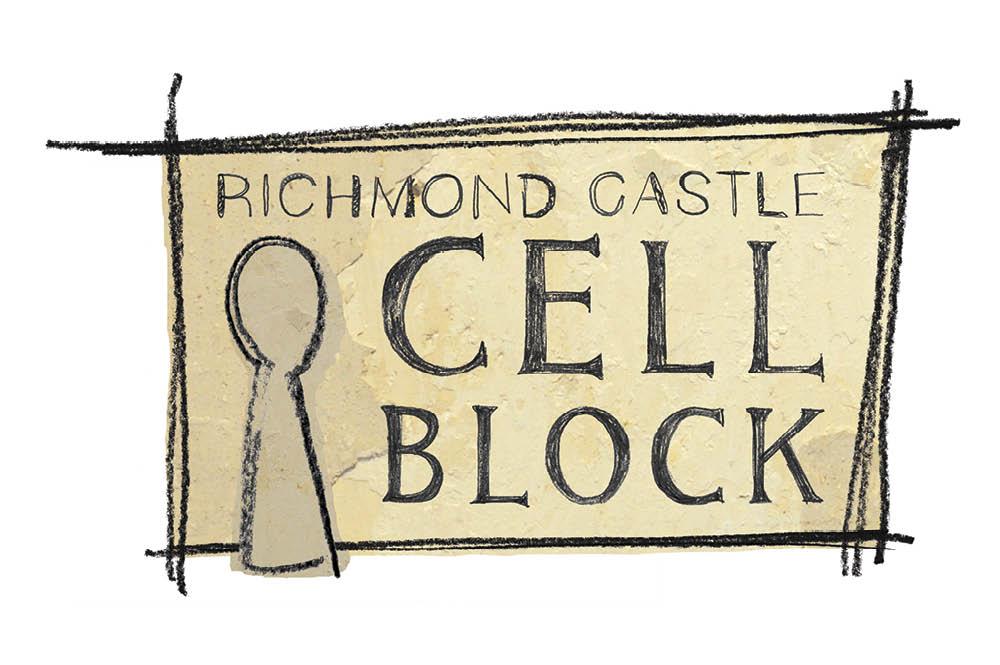 Richmond Castle: Cell Block logo