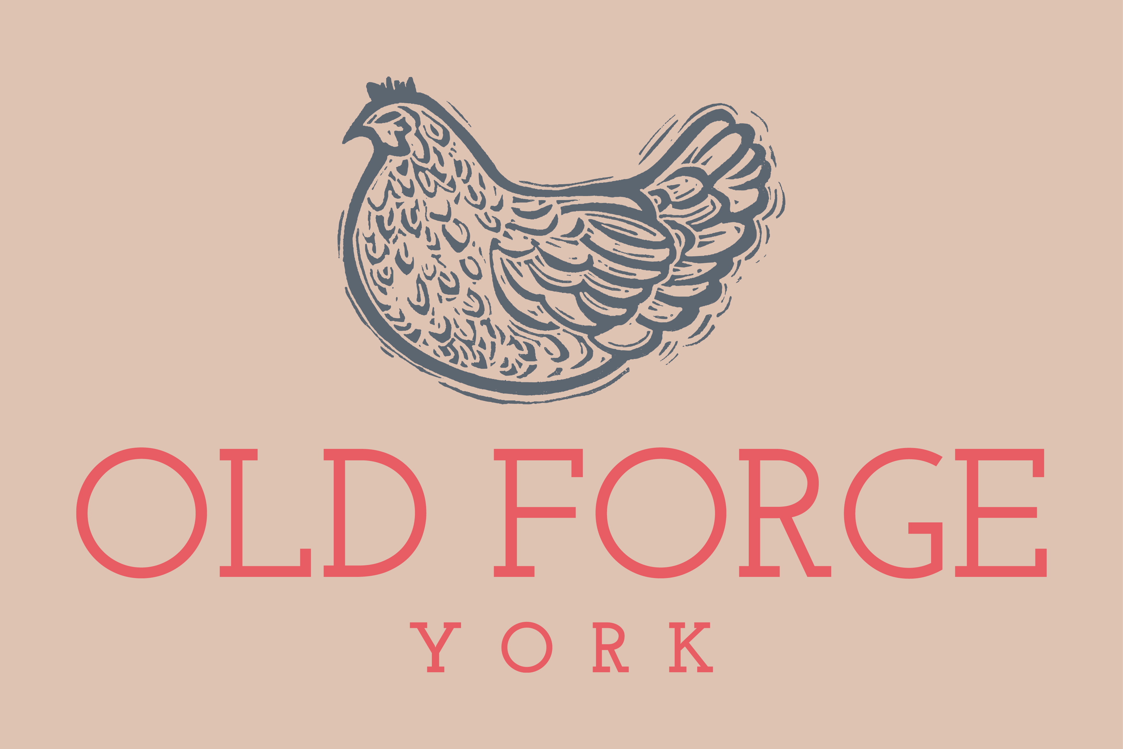 Old Forge York branding